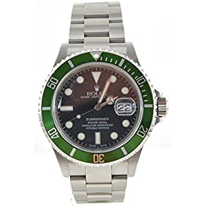 Men's Rolex Oyster Precision Submariner Chronometer Stainless Steel Watch by Rolex