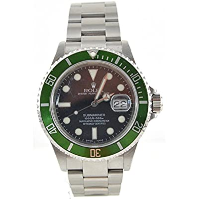 Men's Rolex Oyster Precision Submariner Chronometer Stainless Steel Watch