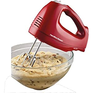 Hamilton Beach 62687 6-Speed Hand Mixer with Snap on Case by Hamilton Beach