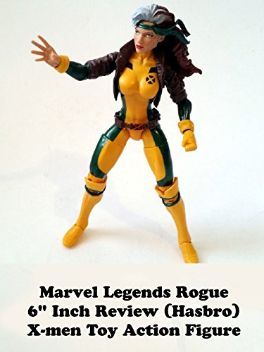 "Marvel Legends ROGUE 6"" inch Review (Juggernaut BAF) X-men toy action figure"