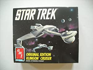 Star Trek Originial Edition Klingon Cruiser Model Kit