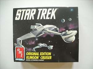 Star Trek Originial Edition Klingon Cruiser Model Kit by AMT Ertl
