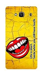 ZAPCASE PRINTED BACK COVER FOR XIAOMI REDMI 2S- Multicolor