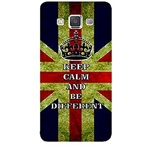 Skin4gadgets Keep Calm and BE DIFFERENT - Colour - UK Flag Phone Skin for SAMSUNG GALAXY A5 (A5000)