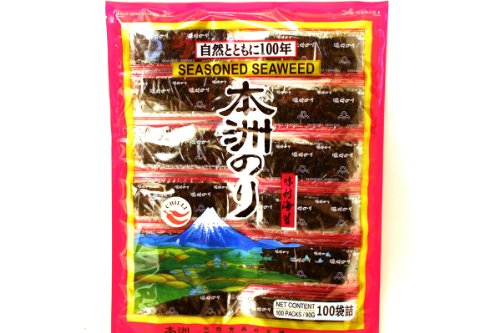 Seasoned Seaweed Chili 90 G (100 Bags) (Pack of 3) (Seaweed Chili compare prices)