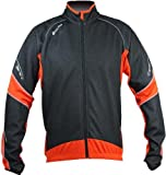 Polaris Tornado Jacket, Orange/Black, Large