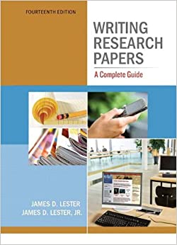 writing research papers spiral-tabbed ed 14th edition