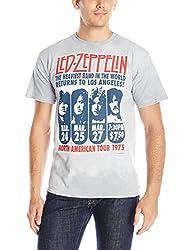 Liquid Blue Men's Led Zeppelin Hermit Short Sleeve T-Shirt, Tie Dye, X-Large