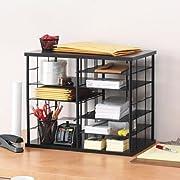 Rubbermaid 12-Slot Organizer, 21-Inch W x 11 3/4-Inch D x 16-Inch H, Black (1738583): Amazon.ca: Office Products