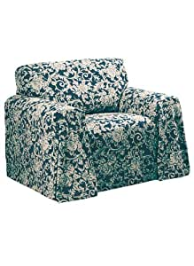 Reversible Furniture Covers - Chair Cover, Color Blue
