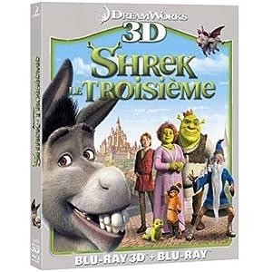 Shrek le troisième [Combo Blu-ray 3D + Blu-ray 2D]