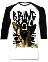 Official T Shirt BRING ME THE HORIZON Alsation BaseBall Raglan All Sizes