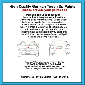 Porsche High Quality German Car Touch Up Paint 30Ml 84A * Indischrot From 73 - 11 from MACPACARPARTS