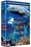 Le Monde des requins 3D + Le monde des dauphins et des baleines, nomades des mers 3D + Les merveilles de l'Océan 3D - Coffret [Internacional] [Blu-ray]