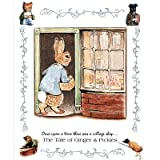 Beatrix Potter Ginger and Pickle Art Print Peter Rabbit Poster - 13x19by Poster