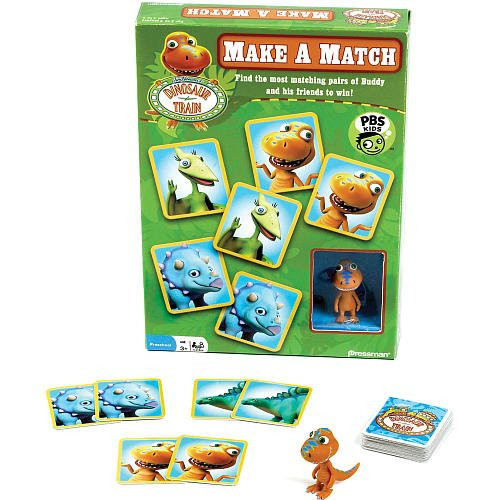 Dinosaur Train Make a Match with Figure