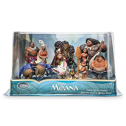 Disney Moana 10 Piece Figure Set