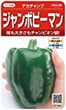 サカタのタネ 実咲野菜1402 ジャンボピーマン デカチャンプ 00921402 10袋セット