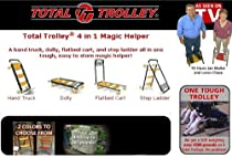 Hot Sale Total Trolley 4in1 Moving Dolly Cart Ladder Hand Truck