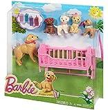Barbie Puppy Cradle