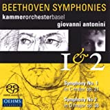 Beethoven: Symphonies Nos. 1 & 2 [Hybrid SACD]