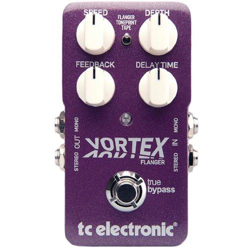 Tc Electronic Tc Electronic Effets Guitare Vortex Flanger