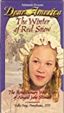 Dear America: The Winter of Red Snow. The Revolutionary War Story of Abigail Jane Stewart (VHS) (0439179696) by Gregory, Kristiana
