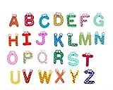 Vale® bebé Juguetes 26pcs Cartas Niños alfabeto de madera iman Imán de juguetes educativos para niños