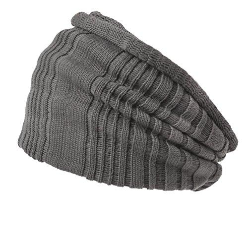 (カジュアルボックス)CasualBox メッシュロングターバンヘアバンド ネックウォーマー【チャコールグレー】 [ウェア&シューズ] メンズ レディース 帽子 Charm チャーム