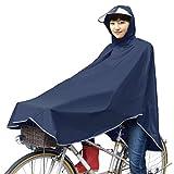 (チャリンコート)ChaRin Coat 自転車用 レインウェア (ネイビー)ポンチョタイプ・レインコート・男女兼用 フリーサイズ(148~178cm対応)