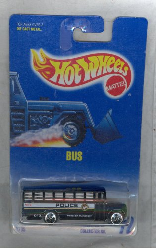 Hot Wheels 1991-72 BUS Blue Card 1:64 Scale - 1