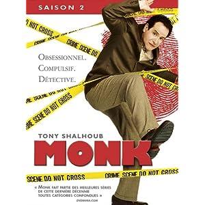 Monk, saison 2 - Coffret 4 DVD