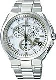 [シチズン]CITIZEN 腕時計 ATTESA アテッサ Eco-Drive エコ・ドライブ 電波時計 ダイレクトフライト ディスク式 BY0040-51A メンズ