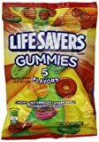 Wrigleys Lifesavers Gummies 5 Flavours Peg Bag 198 g (Pack of 3)