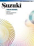 img - for Suzuki Violin School, Vol 1: Piano Acc. book / textbook / text book