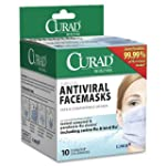 Curad Biomask Antiviral FaceMasks, 10...