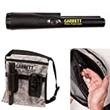 Garrett Pro-Pointer and Camo Canvas Metal Detecting Finds Recovery Bag Pouch