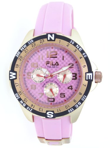 Fila Ladies Polaris Casual Pink Watch #FA0733-34