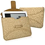 Barnes & Noble nook (1st Ed.) Case, BoxWave® [Quorky Pouch] Durable, Lightweight Cork Envelope Sleeve Cover for Barnes & Noble NOOKcolor | nook (1st Ed.), Tablet