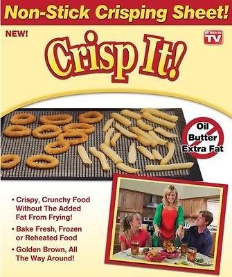 Crisp it Non stick Crisping Sheet, Large 14.5