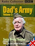 img - for Dad's Army: Sorry Wrong Number v.5 (BBC Radio Collection) (Vol 5) book / textbook / text book