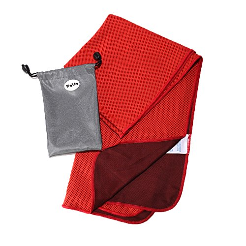 FoVo Cooling Towel Red Waterproof Packaging 100% Money Back Guarantee (2004 Gmc Sierra 2500hd Radiator compare prices)