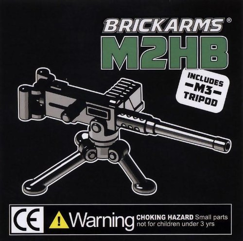 "BrickArms 2.5"" Scale Weapon M2HB with Tripod"