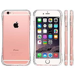 【Amazon.co.jp限定】 Highend berry 2015年 モデル iPhone6s Plus / iPhone6 Plus 5.5インチ 落下防止 用 ストラップ付き 保護キャップ 一体型 ソフト TPU ケース Arc クリア
