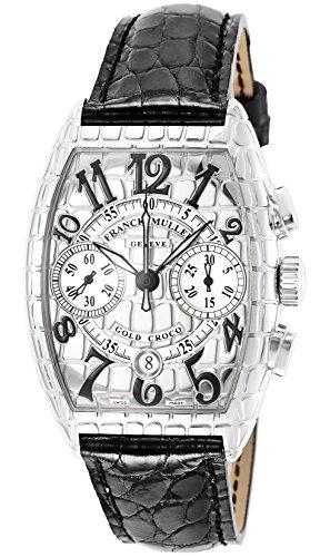 [フランクミュラー]FRANCK MULLER 腕時計 アイアンクロコ シルバー文字盤 自動巻 クロノグラフ 7880CC-CRO-IRON-BLK メンズ 【並行輸入品】