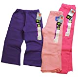 Hanes Girls Cotton Fleece Sweat Pants (2 Pack)