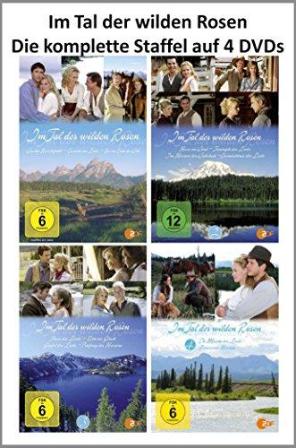 Im Tal der wilden Rosen ( Die kpl. Staffel auf 4 DVDs )