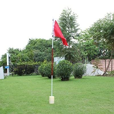 77tech Backyard Practice Golf Hole Pole Cup Flag Stick,golf Putting Green Flagstick