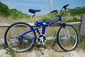 Columba 26 Alloy Folding Bike w. Shimano Blue (RJ26A_BLU) by Columba