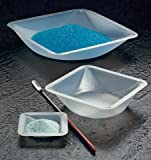 SEOH Plastic Square Weigh Boats Medium Dish 100pk